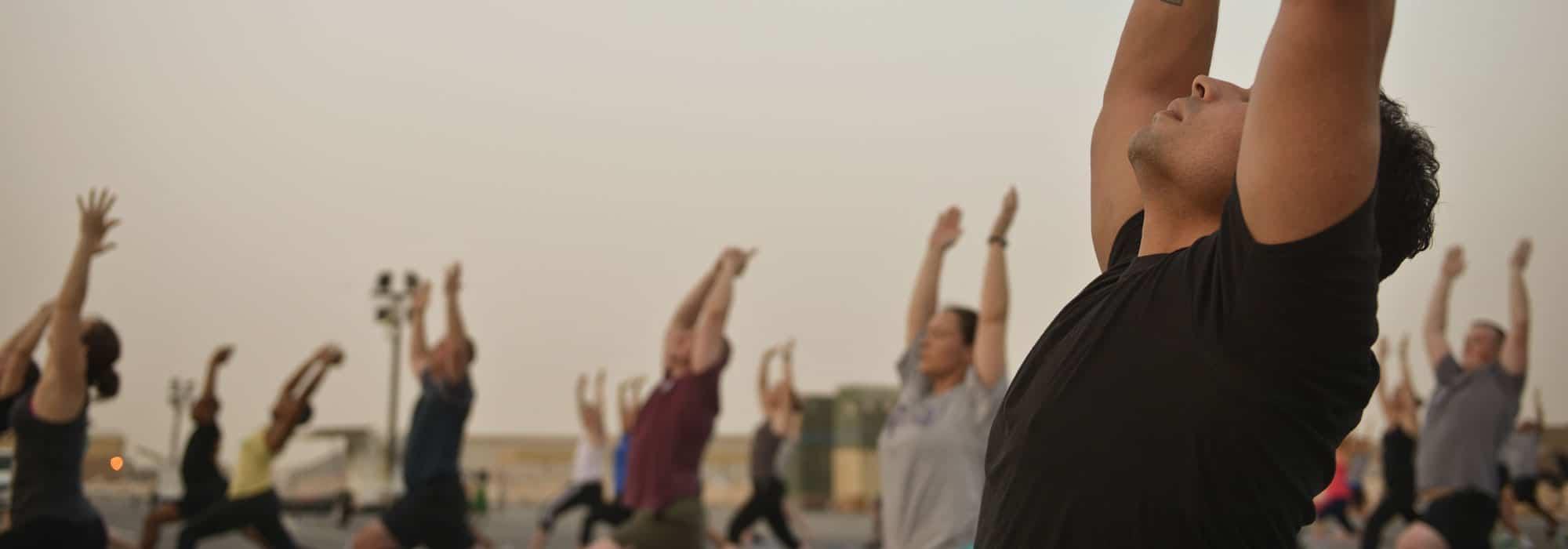 yoga jedermann